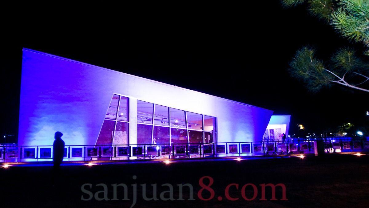 Así lucieron los edificios emblemáticos de San Juan para celebrar el 9 de Julio