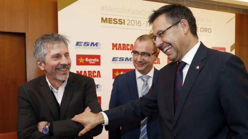 Jorge Messi y Bartomeu se reunirán este miércoles para negociar la salida de Leo