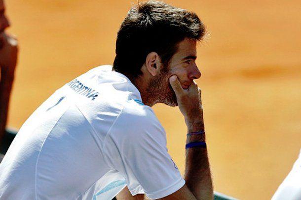 """Del Potro: """"Lo de la Copa Davis es un tema cerrado"""""""