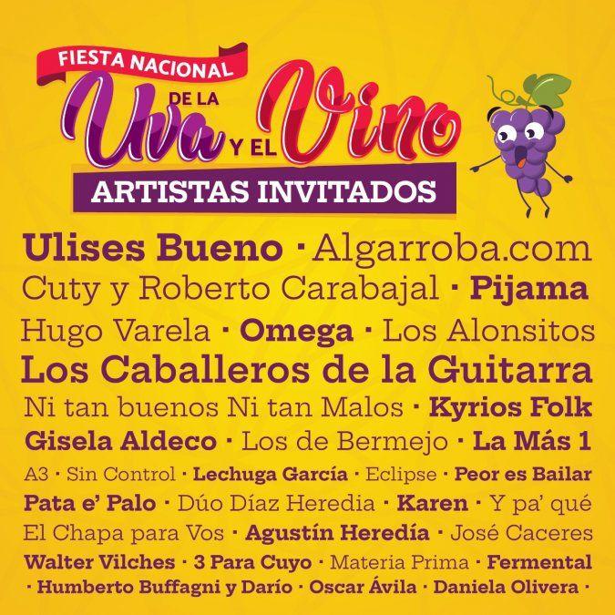 Canal 8 emitirá en vivo la segunda jornada de la Fiesta de la Uva y el Vino