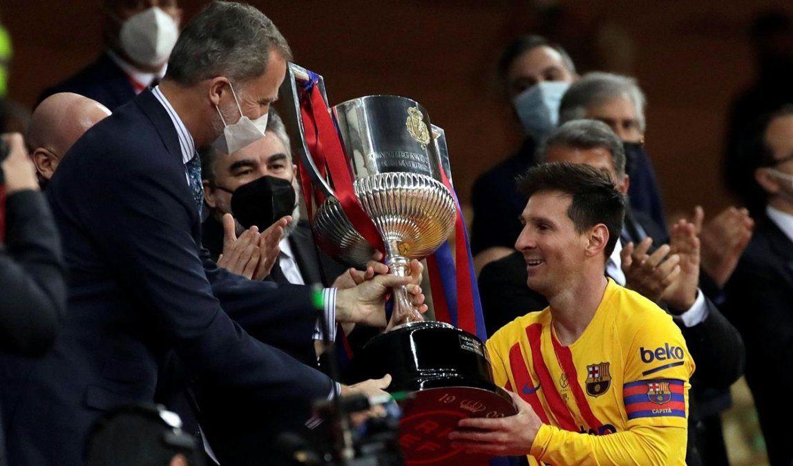 Estoy convencido de que Messi quiere quedarse, dijo el presidente del Barcelona