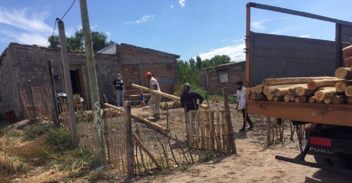Más de 70 familias de pueblos originarios recibieron ayuda