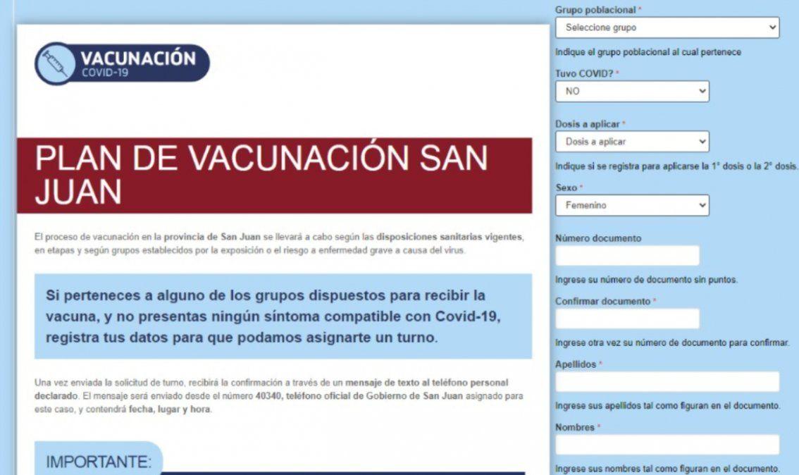 Sigue la inscripción para la vacunación de mayores de 60 años
