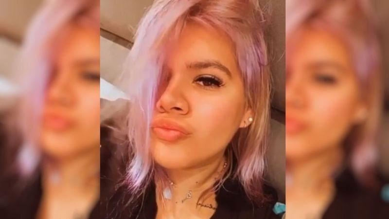 Morena Rial sufrió un accidente en la ruta mientras viajaba con su hijo
