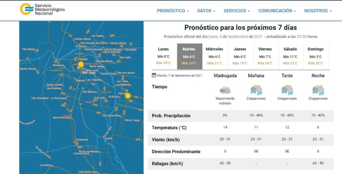 Se viene la lluvia, pero para este lunes el sol dará batalla