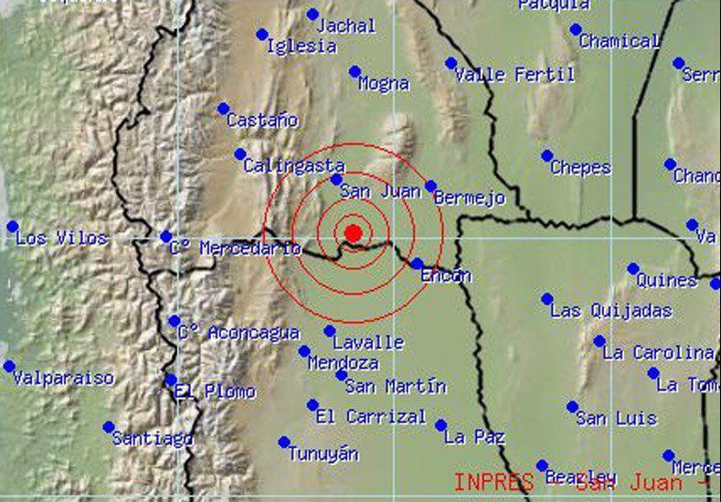 La semana comenzó sacudiendo el suelo sanjuanino con su sismo de 4,1º