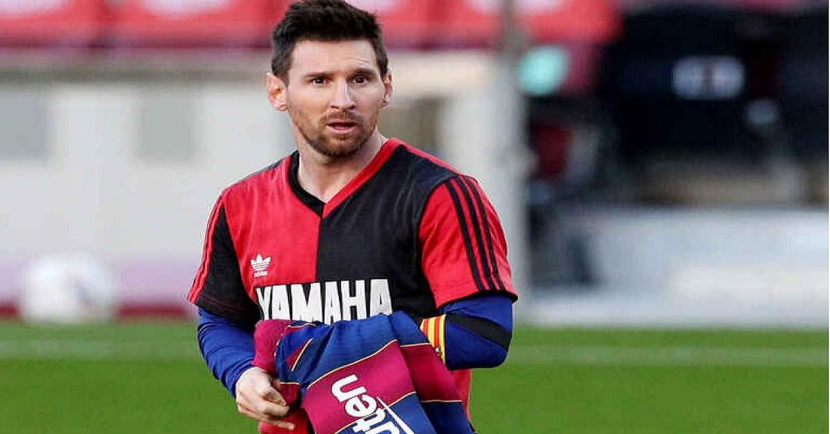 Messi quedó libre y Newells intentó convencerlo con un tuit