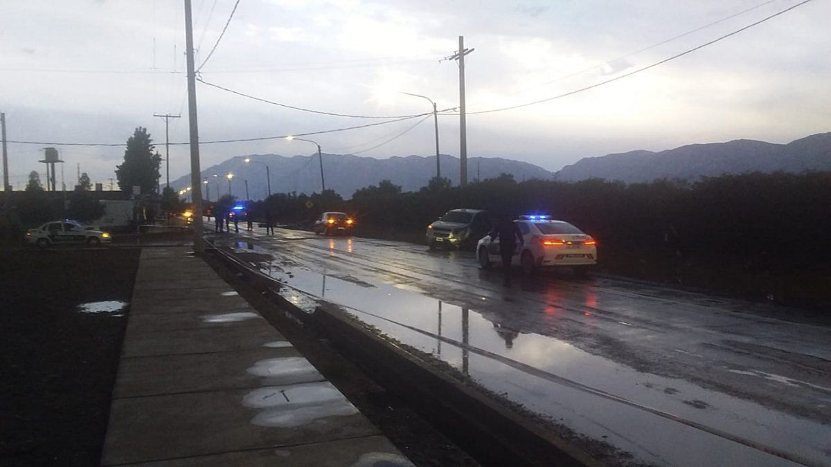 Accidente fatal en Rivadavia: un motociclista perdió la vida