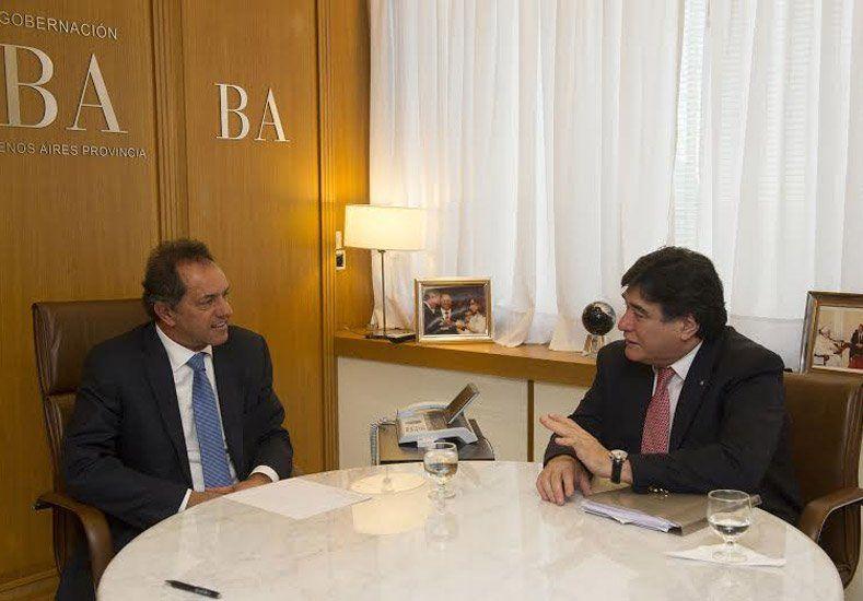 Daniel Scioli y Carlos Zanini se reunieron hoy y comenzaron a delinear su campaña