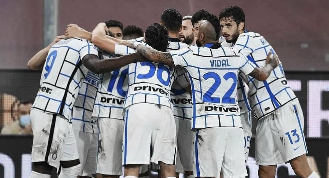 Inter venció a Genoa y quedó tercero en la Serie A de Italia