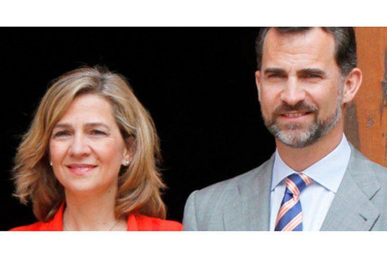 El rey Felipe VI retiró el título de duquesa a la infanta Cristina imputada por evasión