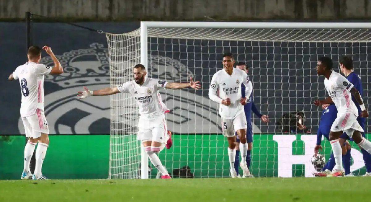 Real Madrid y Chelsea igualaron uno a uno por el partido de ida de las semifinales.