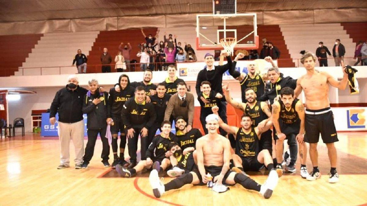 Jáchal derrotó al candidato del TFB y sueña con el ascenso (Foto: Deportes al Plato)