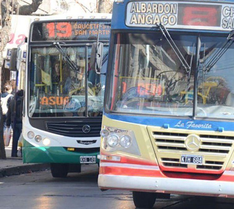La UTA San Juan pidió que los colectivos circulen sólo con pasajeros sentados