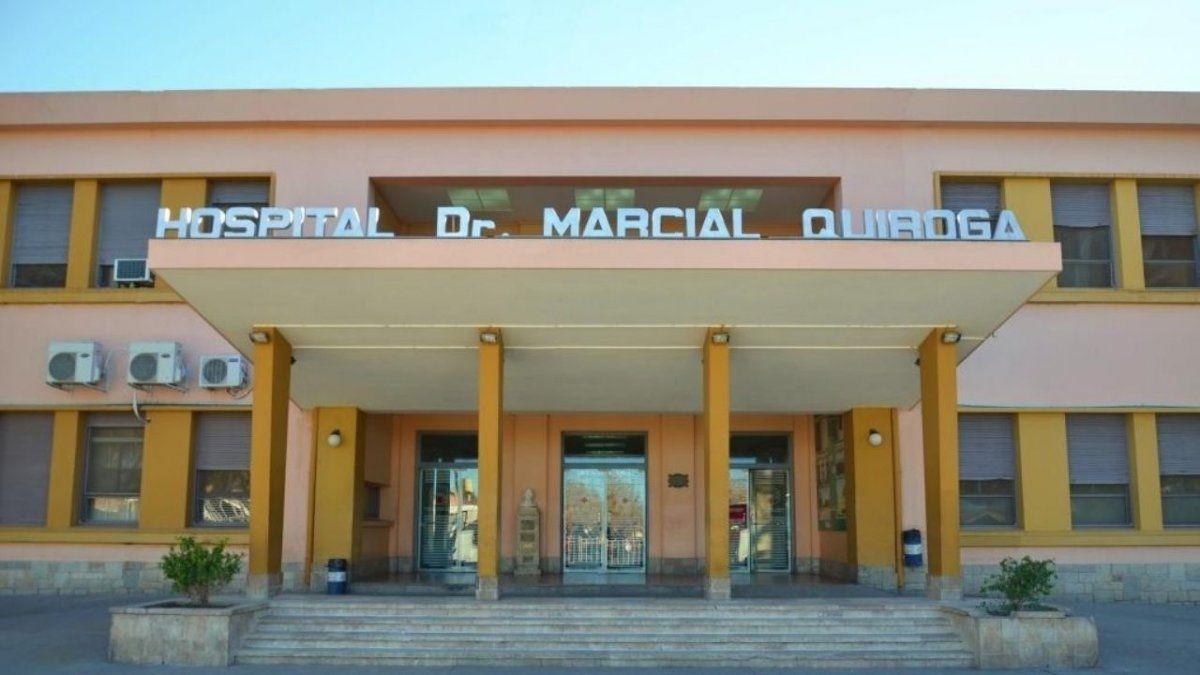 Dos pacientes del Hospital Dr. Marcial Quiroga fallecieron con Covid-19.