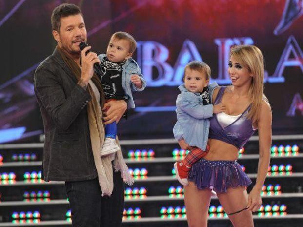 Cinthia Fernández apareció con sus hijas en la pista de ShowMatch