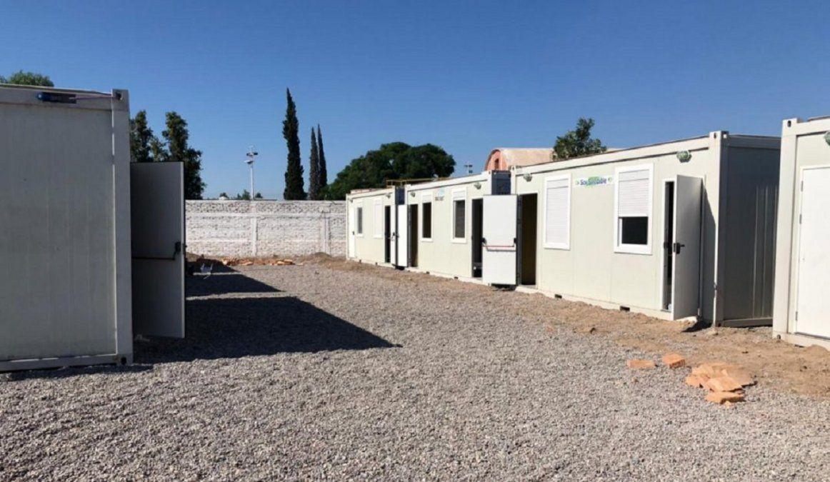 Las aulas móviles están listas para recibir a los alumnos de la escuela Cecilio Ávila. Foto: Prensa UVT.
