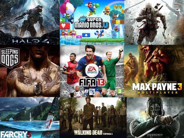 Aquí los 10 mejores videojuegos del 2012