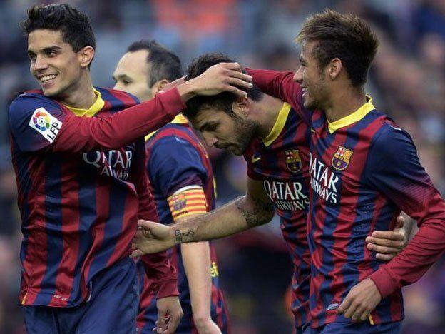 Barcelona goleó a un combinado de Tailandia en su gira por Asia