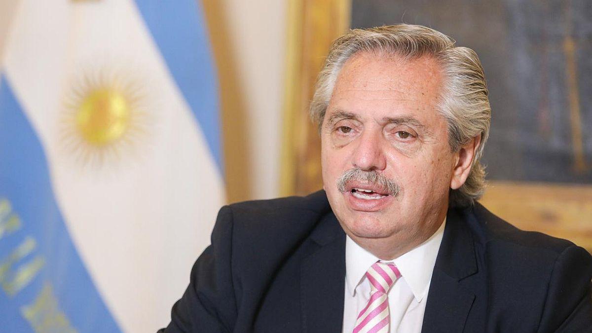 Fernández apoyó a Biden.