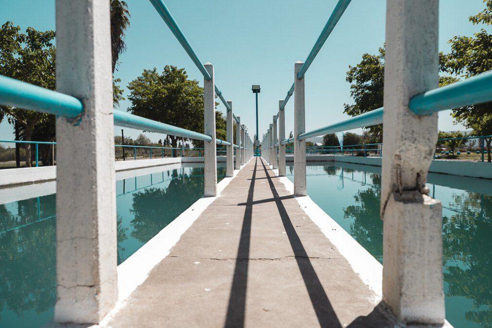 Caucete: Uñac inauguró obras que garantizan el suministro de agua para miles de vecinos
