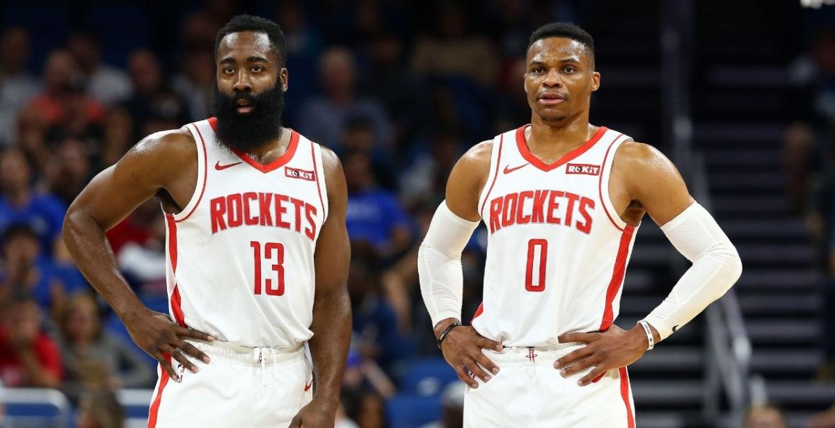 ¿Doble portazo? Harden y Westbrook quieren irse de Houston