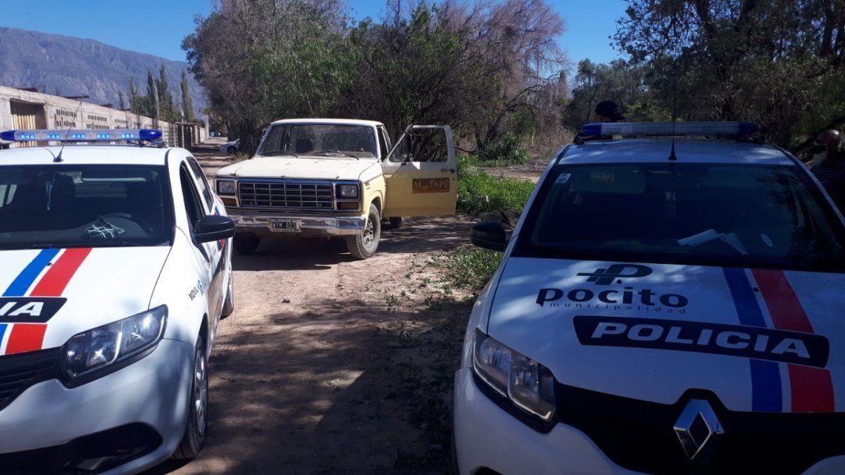 Quisieron robarse el motor de un tractor y fueron detenidos