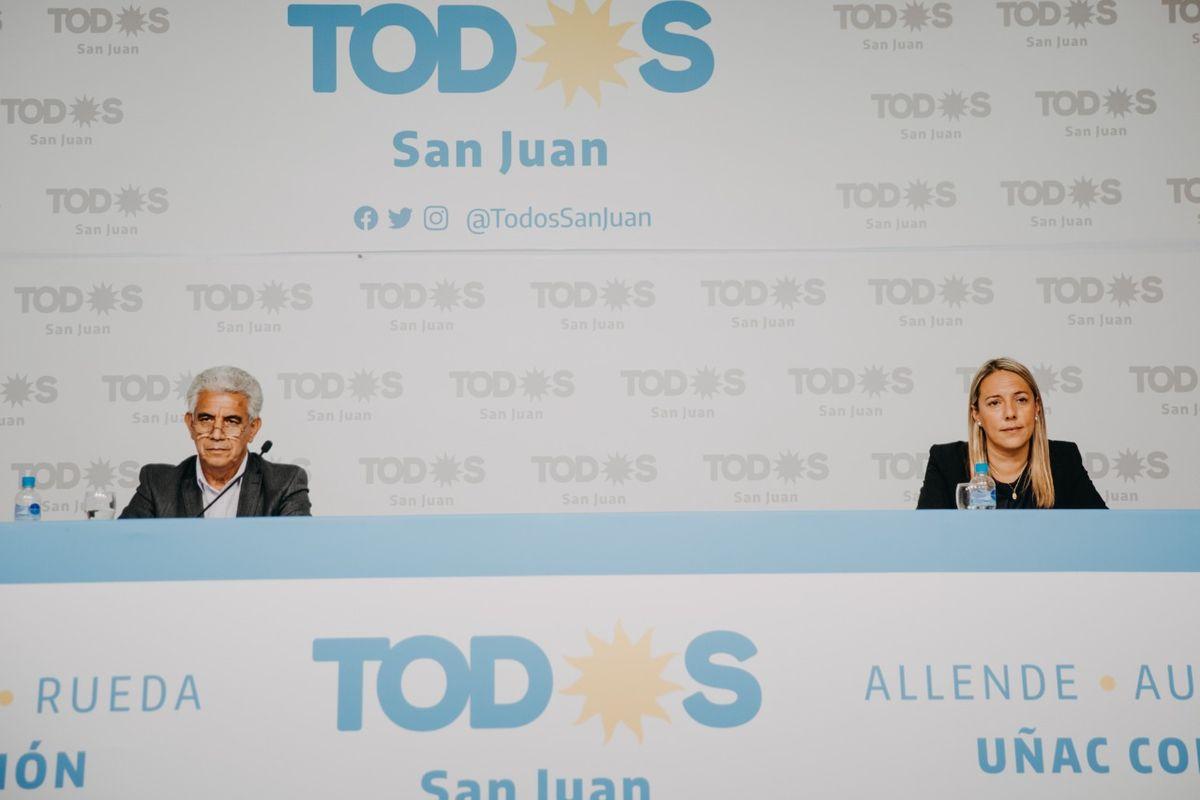 Los precandidatos del Frente de Todos participaron de un encuentro con Alberto Fernández