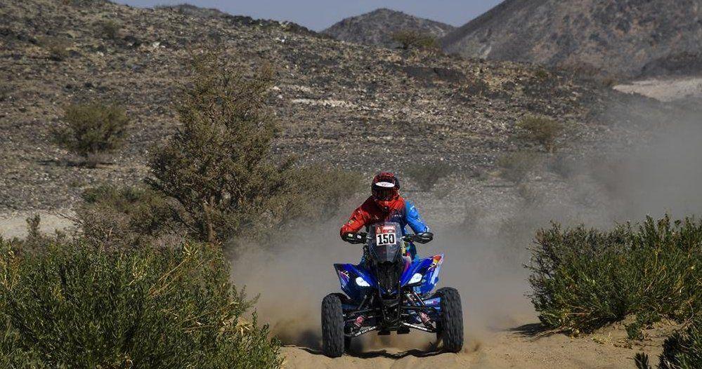 Nicolás Cavigliasso quiere repetir el título del Dakar en quads.