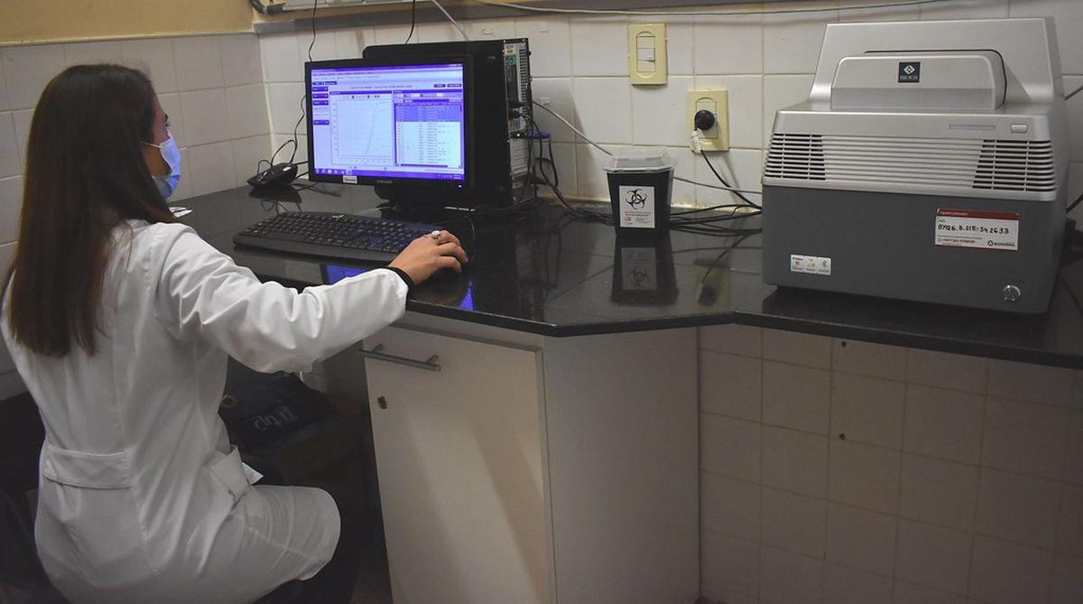 Desde hoy el Marcial Quiroga procesará PCR