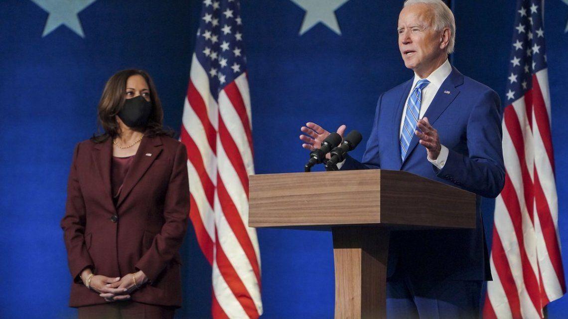 El Congreso de Estados Unidos certificó a Joe Biden como presidente