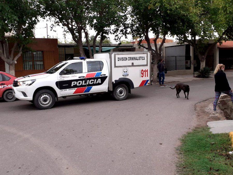Asesinato de un oficial en Chimbas.