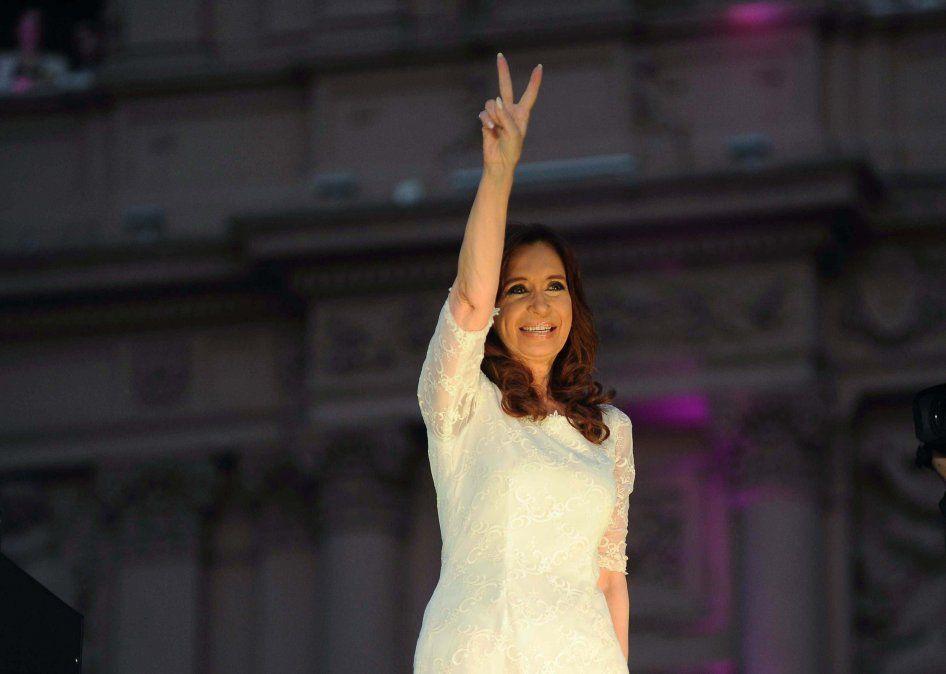 Cristina Fernández quedó a cargo de la presidencia hasta el sábado